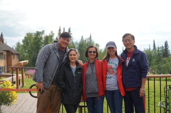 family at Talkeetna