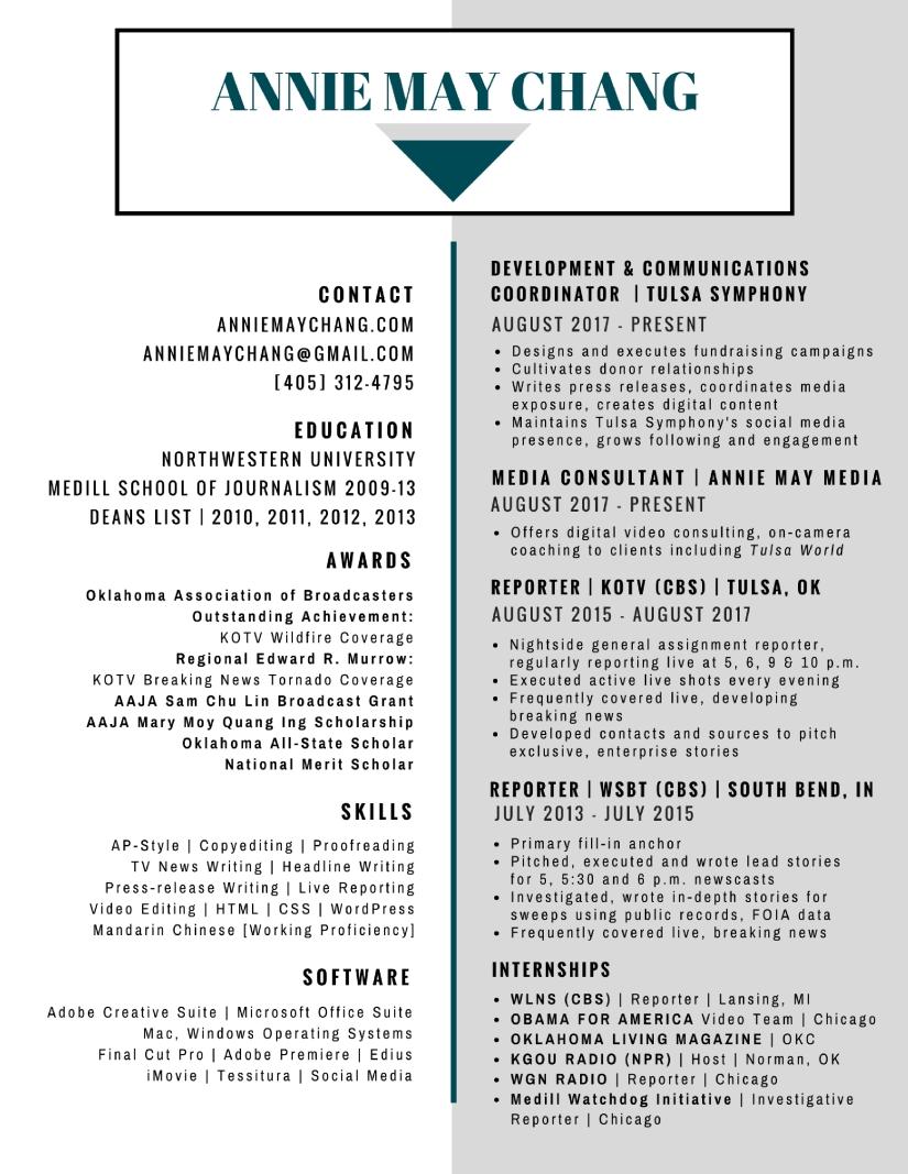 Resume P | Resume Anniemaychang